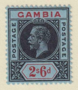 GAMBIA 84  MINT HINGED OG * NO FAULTS EXTRA FINE !
