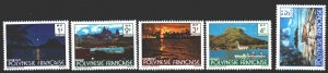 French polynesia. 1979. 278 I A-82 IA from the series. Landscapes of Polynesi...
