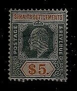 Straits Settlements 104 used SCV190