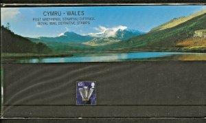 2000 CYMRU-WALES COUNTRY DEFINITIVE PRESENTATION PACK -,65p  PACK 51