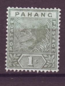 J17880 JLstamps 1892 malaya-pahang mh #11 tiger