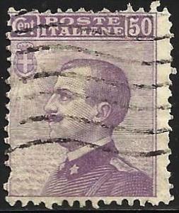 Italy 1908 Scott# 105 Used