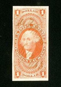 US Stamps # R68a Superb Light Cancel Choice