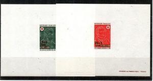 Reunion Scott B40-41 Mint NH Deluxe Proofs (CV 130 Euros)