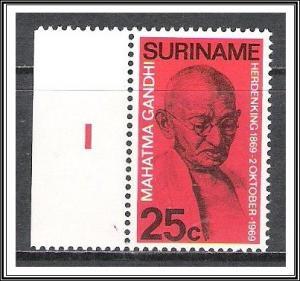 Suriname #365 Mahatma Gandhi MNH