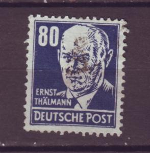 J10930 JL Stamps 1948 Russia ocup,t germany ddr thalmann wmk 292