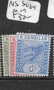 MALAYA NEGRI SEMBILAN  (P2904B)  TIGER SG 2-4  MOG