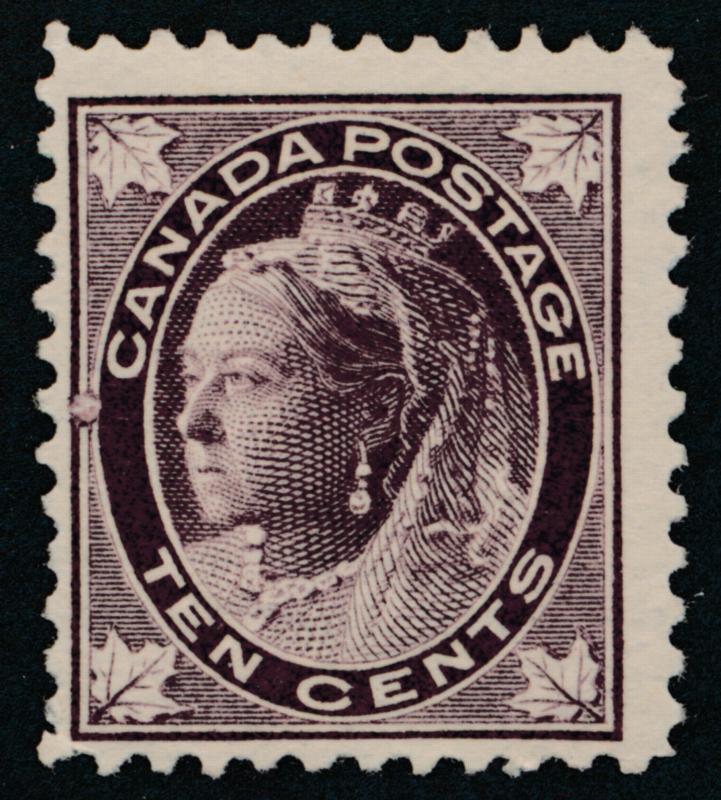 Canada 73 Mint LH F-VF, 10c Victoria