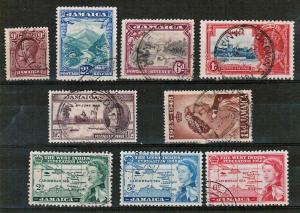 JAMAICA - MIXTURE OF GOOD USED STAMPS