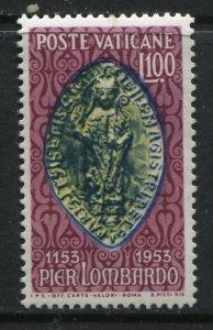 Vatican 1953 100 lire Pier Lombardo unmounted mint NH