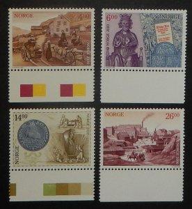 Norway 1224-27. 1999 Millennium Stamps, NH