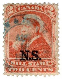 (I.B) Canada Revenue : Nova Scotia Bill Stamp 2c