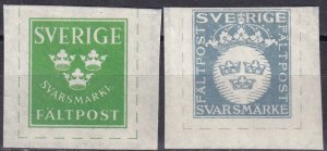 Sweden Military Reply Stamp (Z6244)