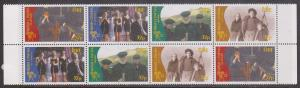Ireland - 1996 Movies Set in Block of 8 VF-NH Sc. #1028-31