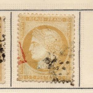 France Ceres 1000 Early Issue Fine Used 15c. 263880