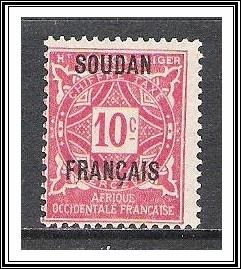 French Sudan #J2 Postage Due NG