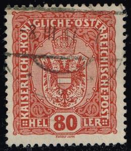 Austria #157 Coat of Arms; Used (0.25)