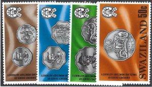 pb3438 Swaziland 333-36 MNH [incpl] BIN $1.50
