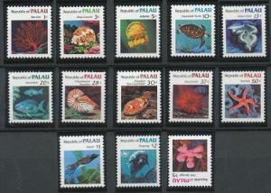 Palau 9-21 MNH (1983-1984)