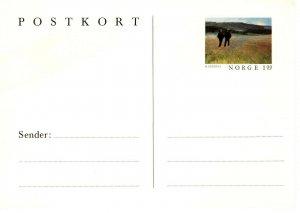 NORWAY POSTCARD   FDC8757