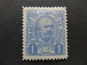 A5P23F43 Montenegro 1902 1h mh*