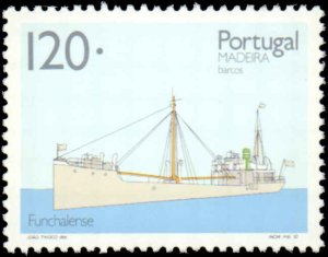 Portugal-Madeira #162-165, Complete Set(4), 1992, Ships, Never Hinged