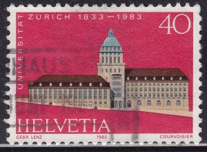 Switzerland 734 USED 1983 Zurich University 40c