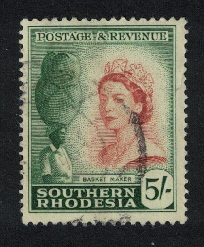 S. Rhodesia Basket maker 5Sh SG#89