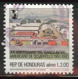 Honduras  Scott C730 Used airmail stamp