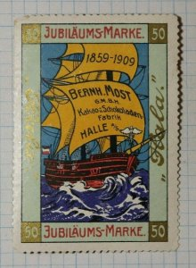 Chocolate Jubilee Expo Cocoa Factory German Brand Poster Stamp Ads