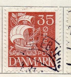 Denmark 1927 Early Issue Fine Used 35ore. 089906