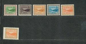 Saudi Arabia Sc#258-263 M/NH/VF, Cv. $94.60