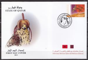 2012  QATAR STATE  FIRST DAY COVER   MNH