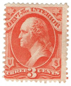 (I.B) US Postal Service : Department of The Interior 3c