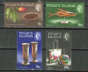 Pitcairn # 91-94  Handicrafts  (4)  Mint NH