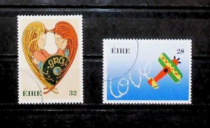 Ireland 1994 Greetings Stamps Used Full Set A22P20F9042