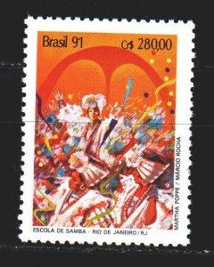 Brazil. 1991. 2401 from the series. Brazilian Carnival. MNH.