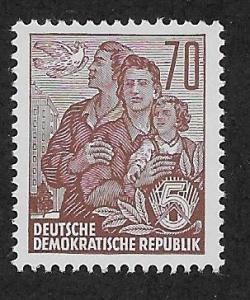 GERMANY - DDR SC# 230A  FVF/MNH 1955