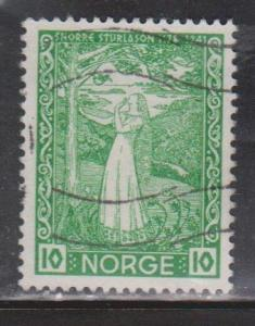 NORWAY Scott # 240 Used