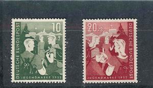 Germany, B325-26,Youth Program Semi-Postal Singles,**MNH**