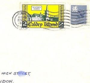 BG230 GB WALES Caldey Island Local 1981 MACHIN REGIONAL Combination TenbyMachine