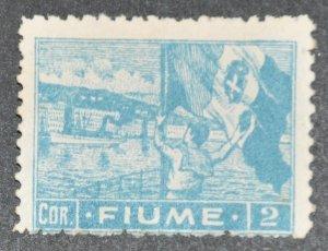 DYNAMITE Stamps: Fiume Scott #40 – UNUSED
