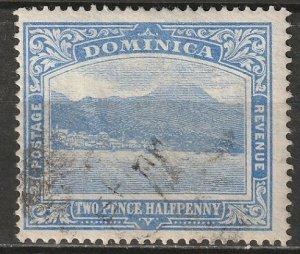 Dominica 1908 Sc 53 used