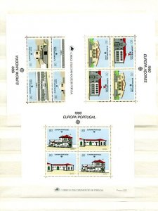 Europa CEPT selection from 1990 VF NH  - Lakeshore Philatelics