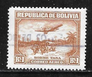 Bolivia C32: B1 Aircraft and Oxcart, used, F-VF