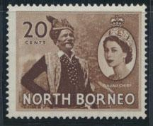 North Borneo SG 380 SC# 269 MVLH   see details