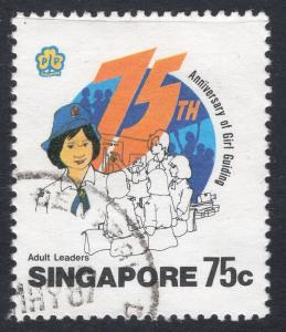SINGAPORE SCOTT 476