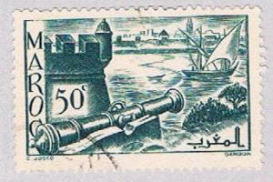 French Morocco 159A Used Ramparts of Sale 1939 (BP33921)