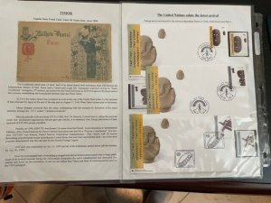 Exhibit of Modern East Timor Stamps & Covers with Military Usages & More *LOOK*