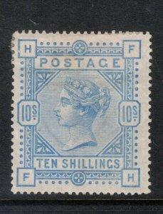 Great Britain #109 Very Fine Mint Full Original Gum Hinge Remnant